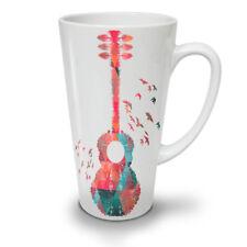 Guitar Geometrical Music NEW White Tea Coffee Latte Mug 12 17 oz   Wellcoda