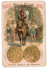 CHROMO CHOCOLAT POULAIN  N°44 VALOIS PHILIPPE VI