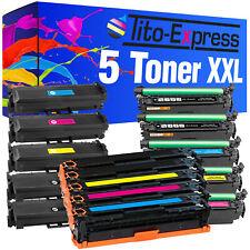 Laser Toner 5er Set pro Series for hp 125A 126A 131X 130A 203A 205A 305X 128A