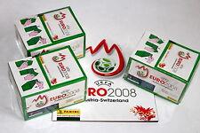 Panini EM Euro 2008 – 3 x Display Box GRÜN GREEN sealed/OVP RARE SHINY + ALBUM