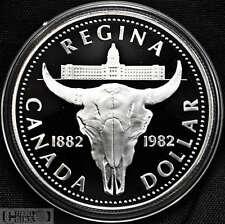 1982 Canada $1 Proof Silver Dollar