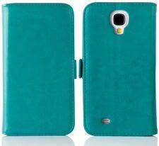 BLUE/GREEN Luxury Leather Case Flip iPhone Galaxy Card Wallet Apple Samsung
