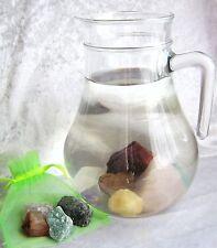 Wassersteine Mischung Rohsteine/Trommelsteine 100g n. Wahl Geschenk