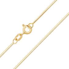 18 ct/Karat Weißgold/Gelb Gold Damen - Schlangen Kette - 41, 46cm