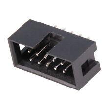 IDC 2x5 10-polig Stecker für Flachbandkabel 2,54mm Arduino Prototype Lötstecker
