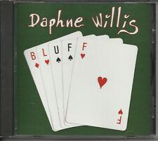 DAPHNE WILLIS Bluff DECK OF CARDS ART PROMO DJ CD 2010