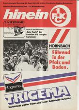 BL 87/88  1. FC Kaiserslautern - VfB Stuttgart