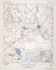 Topographical Map Print - Arredondo Florida Quad - USGS 1890 - 17 x 21.38