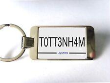 Tottenham Hotspur Spurs Nummernschild Stil Schlüsselring Schlüsselanhänger