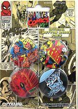 COMICS FUMETTI X MEN FANTASTIC 4 SPIDERMAN PIN PINS BADGE 80380