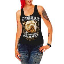 Frauen Trägershirt Top Staffordshire Bullterrier hunde dogs stafford listenhunde