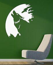 Wolf Animal Painter Art Coolest Room Decor Wall Sticker Vinyl Decal (ig2071)