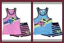NEW Licensed Girls/Teen Supergirl Pjs/Pyjamas - Sizes 7,8 & 10 - Pink or Blue