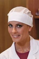 Cuffia Cappello Berretto Donna da lavoro Alimentare Cuoco Abbigliamento Abiti