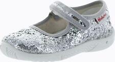 Naturino Girls 7703 Metallic Casual Mary Jane Flats Shoes