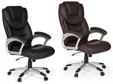 chaise MADY chaise de bureau chaise ergonomique cuir imitation chaise pivotante