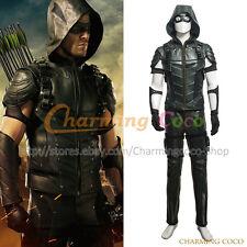 Green Arrow Cosplay Oliver Queen Costume Amazing Men Uniform Halloween Outfit