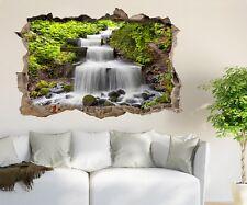 3D Shrubs Stone Creek 58 Wall Murals Wall Stickers Decal breakthrough AJ WALL CA