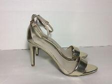 Apt.9 Ap part Fait Metallic High Heel Sandals Womens Shoes Open Toe Sz.8M New