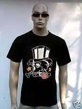 étoiles & étoiles roses Star x-bones Tête de Mort Homme Tee-shirt G.M