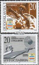 Jugoslawien 2989-2990 (kompl.Ausg.) postfrisch 2000 Medailliengewinner bei Olymp