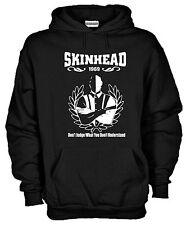 Felpa con cappuccio SkinHead 1969 KJ783 Original Oi Music London Hoodie