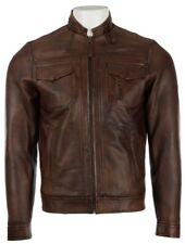 Aviatrix Men's Super-Soft Real Leather Vintage Fashion Jacket