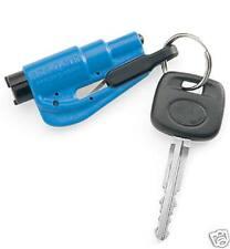 ResQme Seatbelt Cutter Glass Breaker Blue Window Breaking Tool and Seatbelt cut
