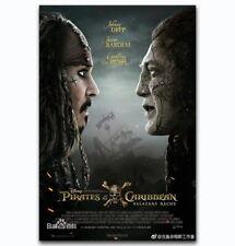 60196 Johnny Depp Pirates of the Caribbean Dead Men FRAMED CANVAS PRINT UK