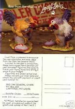 Lowell Davis Chicken Postcard Red Oak II General Store