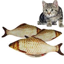 New Realistic Fish 30 cm Cat Kicker Toy Cotton Catnip Scratching Toy