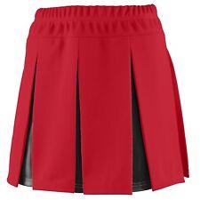 Augusta Sportswear Women's Double Knit Elastic Waistband Liberty Skirt. 9115