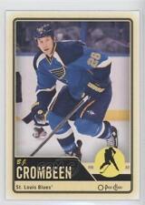 2012-13 O-Pee-Chee #164 BJ Crombeen St. Louis Blues B.J. Hockey Card