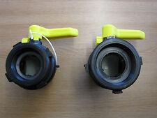 New IBC Adaptor Fitting Tap IBC Valve Water Tank IBC Fitting Oil Fuel Tank
