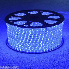 Tira Led Azul 220V 240V IP68 Impermeable 3528 SMD comercial Cuerda Luces De Jardín