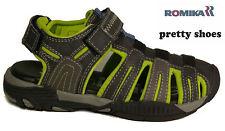 ROMIKA Kids Schuh Sandale  Gr.31  Grau Neon Klettverschluss NEU ANGEBOT Trekking