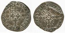 FRANCE -  HENRI II, douzain aux croissants 1550