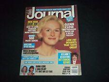 1991 JANUARY LADIES HOME JOURNAL MAGAZINE - GLENN CLOSE - GREAT COVER - B 1498