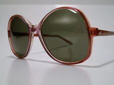NOS Ladies True Vintage Sunglasses A/O American Optical SAND PEBBLES Large