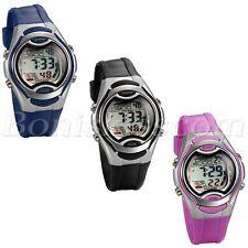 Students Kids Multi-function Date Alarm Waterproof Digital Sports Wrist Watch