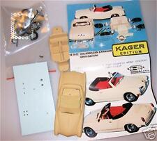 1:43 Carman Ghia Cabriolet 1972 Resina Kit di costruzione Provence Moulage HS1 µ