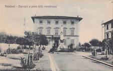 PIAN DI SCO' - Municipio e monumento ai caduti 1929