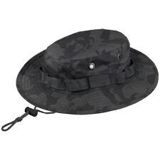 MFH GI Boonie Hat Bush Jungle Tattico Sunhat Militare Combat Cotone Night Camo