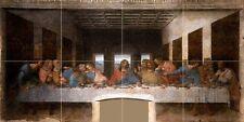 The Last Supper Leonardo da Vinci Tile Mural Bathroom Backsplash Marble Ceramic