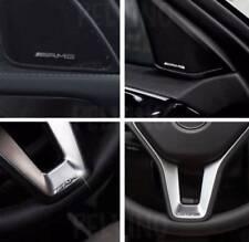 Logo Stemma Mercedes Amg Volante Classe A B C Effetto Rilievo Lucido Interni