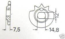 """Kreidler Ritzel  439 16 Zähne NEU Flory MF 2 + 3 Gang FLOTT  RMC M"""" 22, 30. 33"""