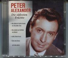 CD - Peter Alexander - Die süßesten Früchte