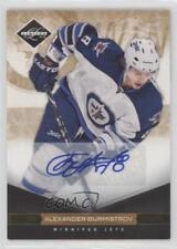 2011 Limited Gold Monikers Autographed 149 Alexander Burmistrov Auto Hockey Card