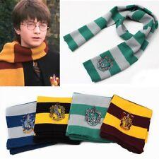 Sciarpa Harry Potter Grifondoro Tassorosso Serpeverde Corvonero Cosplay