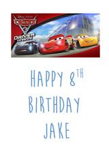 Personalizzato compleanno auguri carta Walt Disney Cars 3 Saetta McQueen #1
